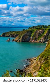 Howth Cliffs Dublin Ireland.