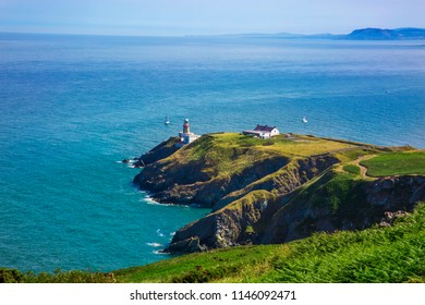 Howth Head with Baily Lighthouse, Dublin, Ireland