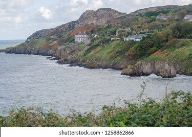 Howth lanscape and Irish sea, beautiful Ireland and travel destination