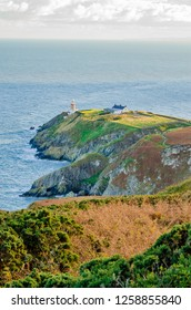 Howth lighthouse in Ireland
