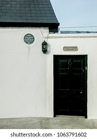 HOWTH-OCTOBER 10: poets W.B.Yeats house,Howth,Ireland,on October 10,2002.