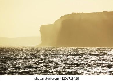 Hoy island at sunrise