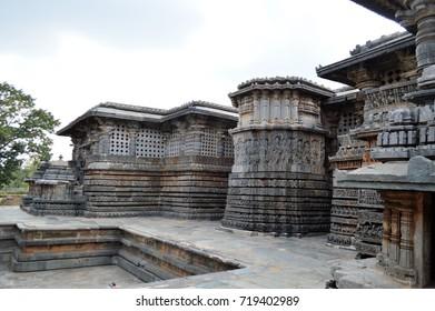 Hoysaleswara temple, Halebidu, India