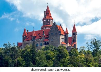 Hrad Bouzov/ Bouzov castle