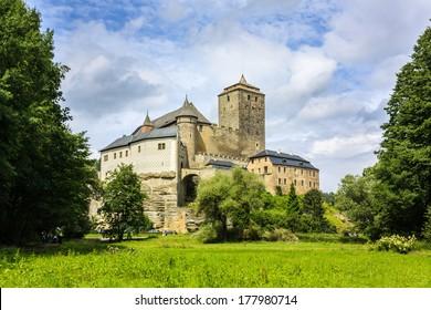 Hrad Kost, Kost Castle, Czech gothic castle