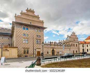Hradcany Square, Schwarzenberg Palace, Prague, Czech Republic