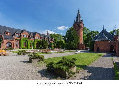 Hradec nad Moravici castle. Czech Republic