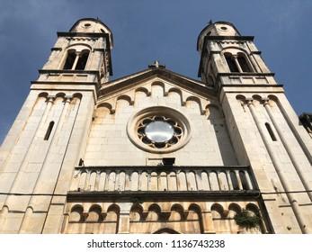 Hram Svetog Spiridona Orthodox church in Skradin Croatia