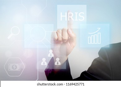 HRIS-Human Resource Information System concept
