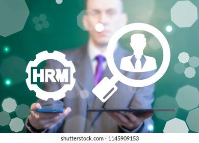 HRM - human resources management.