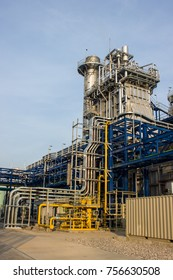 HRSG (Heat Recovery Steam Generator) and Gas Filter Station of Power Plant