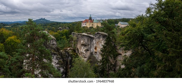 Hruba skala and Trosky castle - Shutterstock ID 1964837968