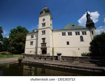 Hruby Rohozec castle in summer - Shutterstock ID 1301303713