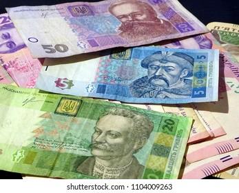 Hryvnia (hrivna, grivna, hrivnia) - banknotes of Ukraine hryvnia, ukraine currency