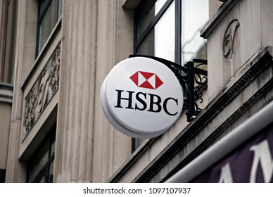 HSBC Bank Branch in Istanbul, Turkey on Feb 9, 2015.