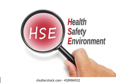 HSE, acronyms business concept
