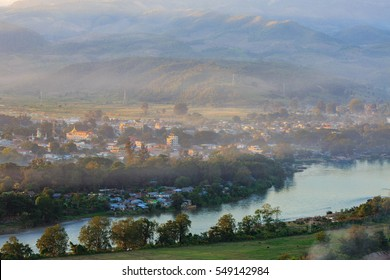 Hsipaw town in Shan state Myanmar