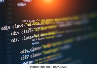 html web design code for developers and designers