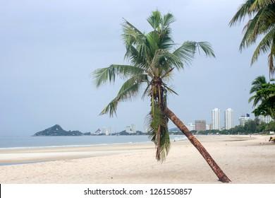 Hua Hin beach.Thailand