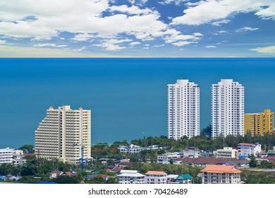 Hua Hin city Thailand