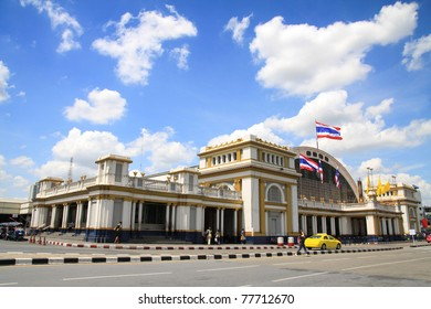 Hua Lamphong railway station or Bangkok Grand Central Terminal Railway Station, is the main railway station in Bangkok, Thailand located in the center of the city in Pathum Wan District.