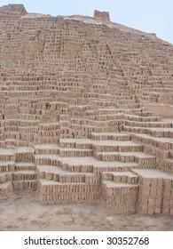 Huaca Pucllana Pyramid in Lima Peru