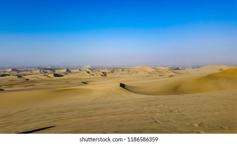 Huacachina desert in Peru
