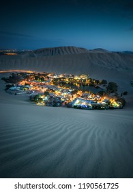 Huacachina, a small oasis in Peru, next to Ica