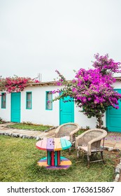Huacachina-Ica-Peru - Aug 17 2019 - Bedrooms on The Upcycled Hostel