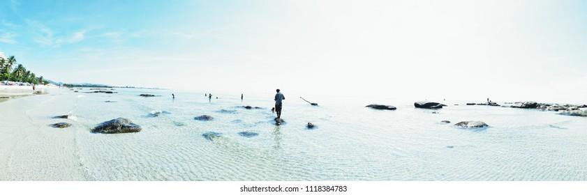 Huahin beach , Thailand
