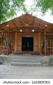 Hualien, MAY 8: Wooden structure of Tzu Chi Hospital on MAY 8, 2004 at Hualien, Taiwan