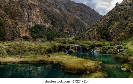 Huancaya and beauty of Peru, Canyon and river