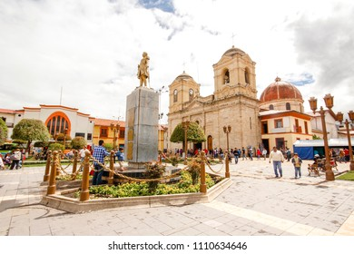 The Huancayo Cathedral of the Holy Trinity.