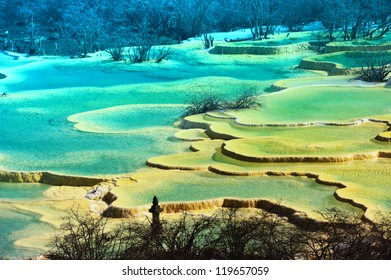 huang long colorful pool