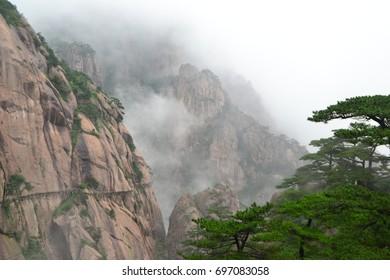 Huang Shan mountains, China