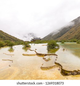 huanglong nationalpark china, landscape