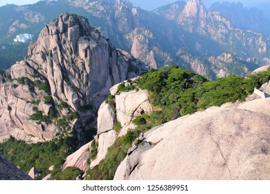Huangshan landscape in Huangshan  City, Anhui Province, China.