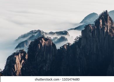 Huangshan Mountain (Yellow Mountain), Anhui province, China