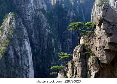 Huangshan Mountain (Yellow Mountain), China. Of all the notable mountains in China, it is probably the most famous to be found in the south of Anhui province.