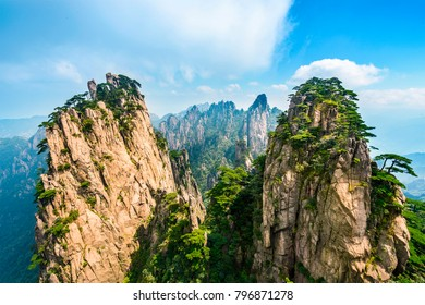 Huangshan Mountain (Yellow Mountain), located in Anhui, China.