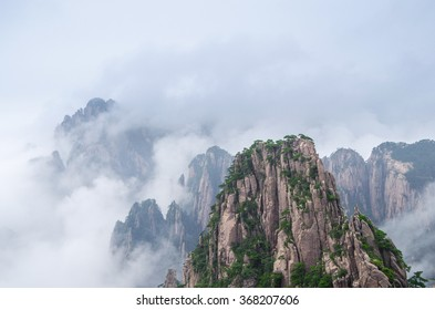 Huangshan National Park, An-hui Province, China
