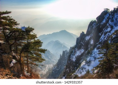 Huangshan Scenic Spot, located in Huangshan City, Anhui Province, China
