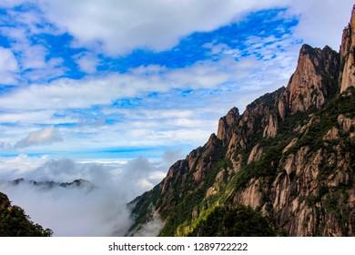 Huangshan yellow mountain