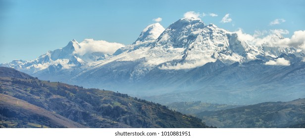 Huascaran peak (6768m), Peru