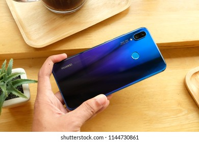 Huawei Nova 3i Iris Purple color launch on July 28 ,2018 Bangkok ,Thailand