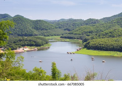 Huay Krating Reservoir, Loie Province, Thailand.