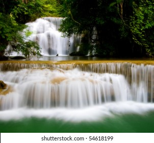 Huay Mae Khamin, Waterfall in west of Thailand