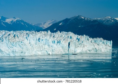 Hubbard Glacier located in eastern Alaska and part of Yukon, Canada, and named after Gardiner Hubbard.