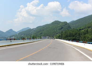 Hubei rural country road