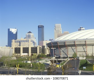 Hubert H. Humphrey Metrodome, Minneapolis, Minnesota